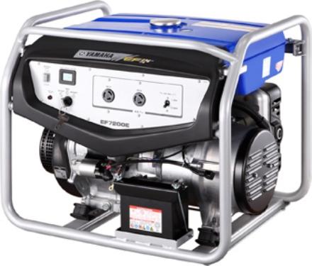 Picture of Yamaha EF7200E Electric Start Petrol Generator