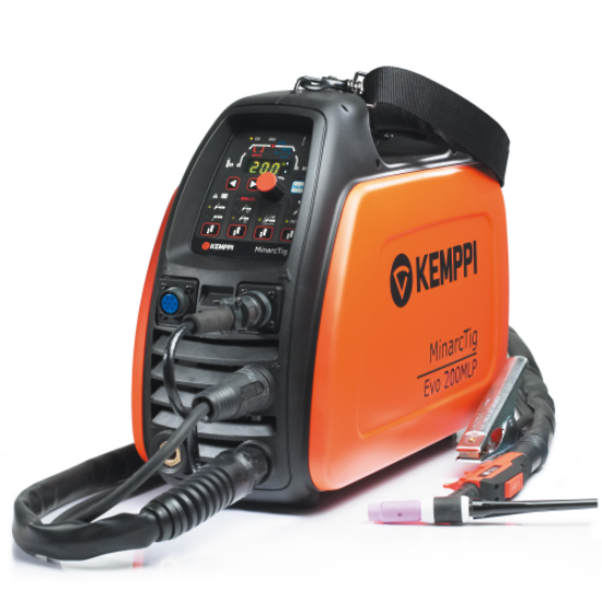Picture of Kemppi Minarc Tig EVO 200 MLP Pulse Machine Package