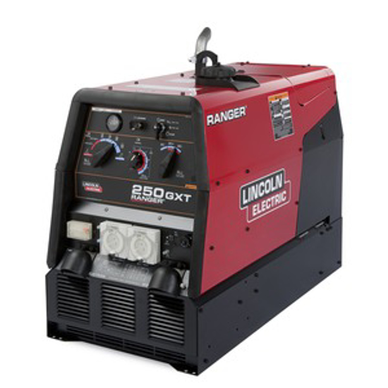 Picture of Lincoln Ranger 250GXT Engine Driven Welder