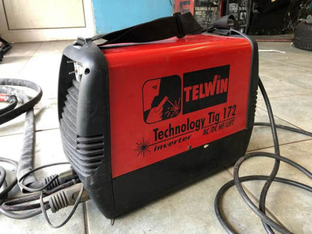 Picture of TELWIN TECHNOLOGY TIG 172 AC / DC HF / LIFT