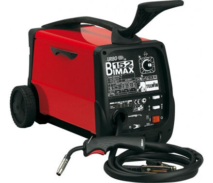 Picture of TELWIN BIMAX 152 TURBO FLUX-MIG-MAG WELDING DEVICE
