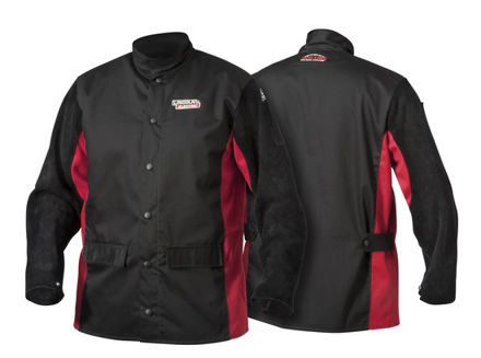 Picture of SHADOW Split Leather-Sleeved Welding Jacket