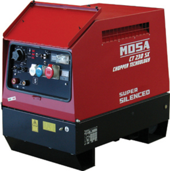 Picture of MOSA CT 230 SX Plus Engine Driven Welder