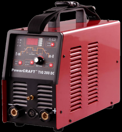 Picture of Lincoln Powercraft 200 DC Tig Welder