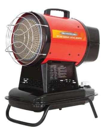 Picture of Heatstream 21KW Radiant Diesel Heater