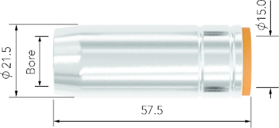 Picture of MCN2572 Tapered Nozzle