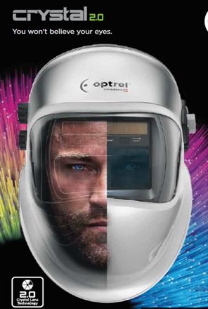 Picture of Optrel Crystal 2.0 Welding Helmet