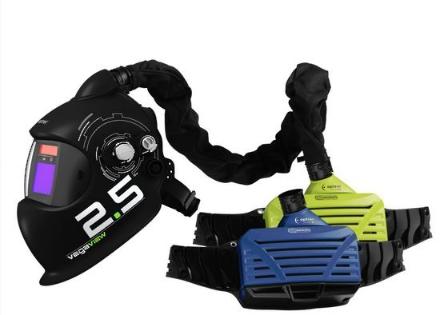 Picture of Optrel Vegaview Auto Darkening Welding Helmet with PAPR
