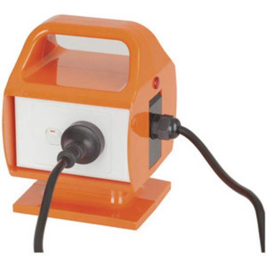 Picture of Portable RCD with 15A to 10A Mains Plug Conversion