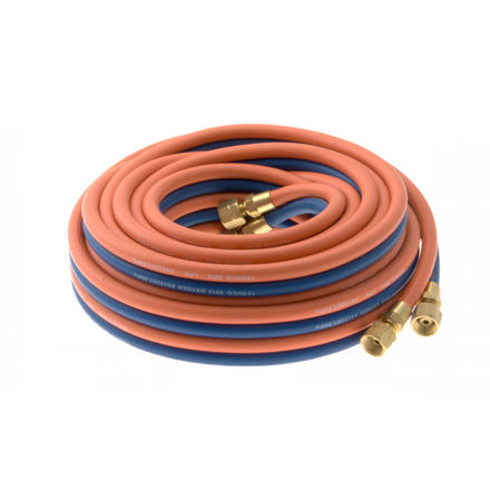 Picture of 10 METER - 10MM - OXY | LPG TWIN HOSE WITH FITTINGS