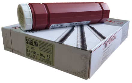 Picture of Hyundai Stainless Steel Arc Welding Electrodes S-316.16N