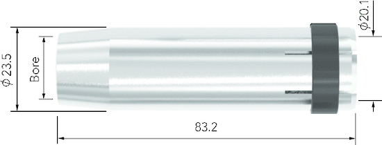 Picture of MCN3671 Cylindrical Nozzle