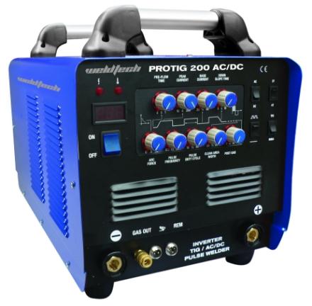 Picture of Weldtech Protig 200 AC/DC Tig Welder