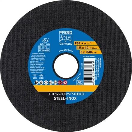 PFERD Inox Cutting Disc 125x1.0mm 25Pk