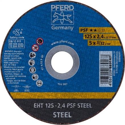 PFERD General Purpose Cutting Disc 125x2.4mm 25Pk