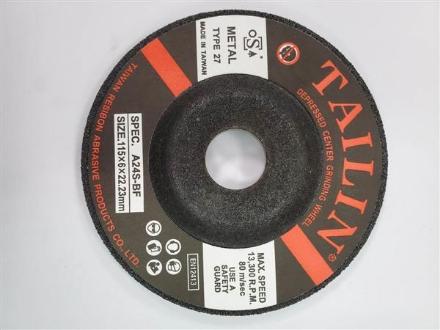 TAILIN General Purpose Grinding Disc 115x6.0x22mm 25Pk