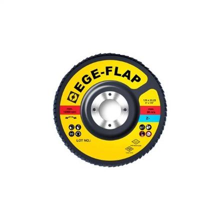 EGELI Flap Disc 125x22mm Z40 10Pk